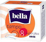 Тампоны гигиенические bella Tampo Super Plus,  8 шт.