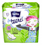 Прокладки bella for teens Ultra Relax Deo, 10 шт.
