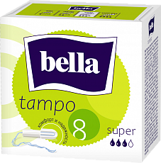 Тампоны гигиенические bella Tampo Super, 8 шт.